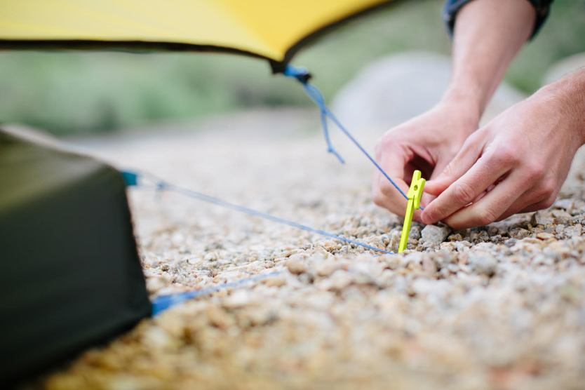 NEMO's Airpin Ultralight Stake Wins Backpacker's Editors' Choice Award