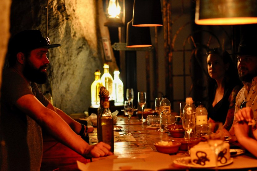 Photo of the day: Tequila tasting inside a cave