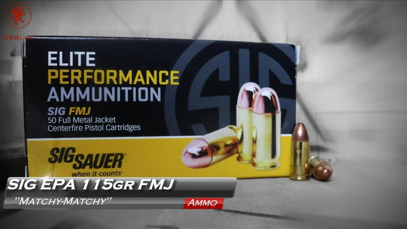 SIG Elite 9mm Performance Ammunition