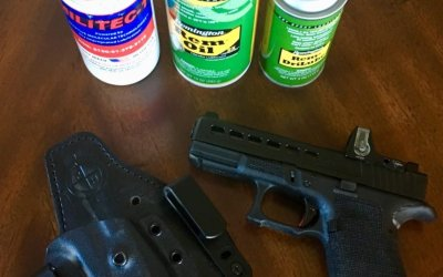 Weapons maintenance tips: Cleaners, lube and protectants