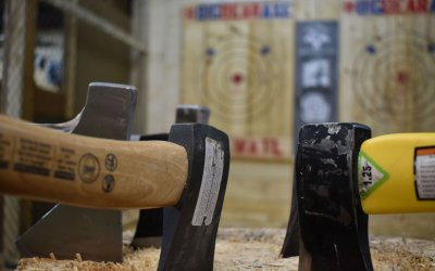 How safe is axe throwing? Check this out!