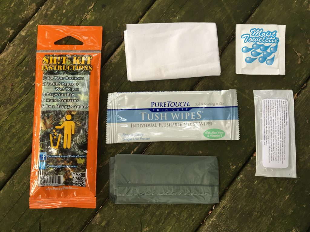 Sh!t Kit field toilet kit: Don't get caught with your pants down