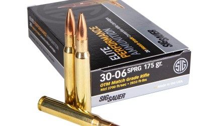 SIG SAUER Introduces 30-06 Springfield Elite Match Ammunition