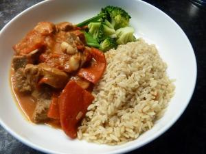 Spanish lamb and chorizo stew