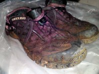 My trekking shoes