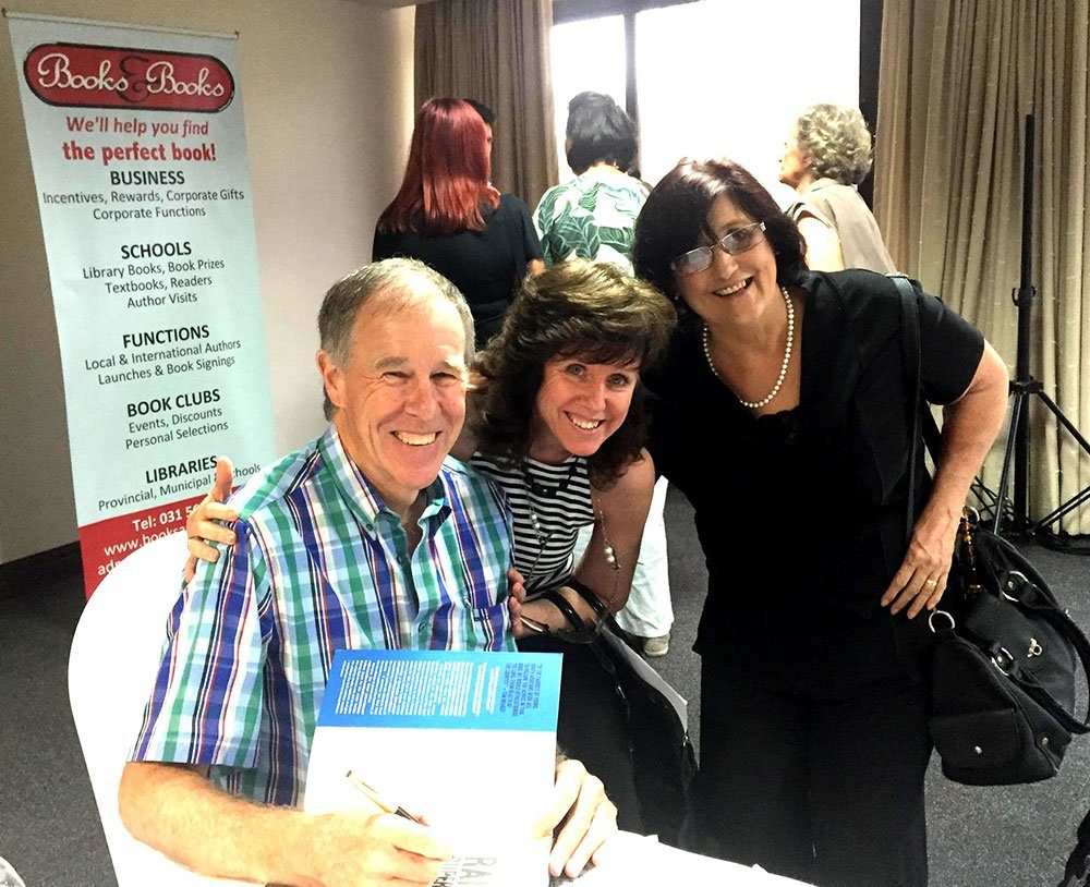 Robyn & Alison from Loafers Low Carb Superstore with Tim Noakes