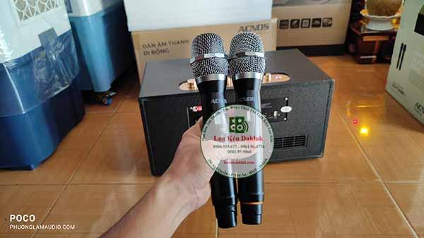 micro loa karaoke xach tay acnos cs446