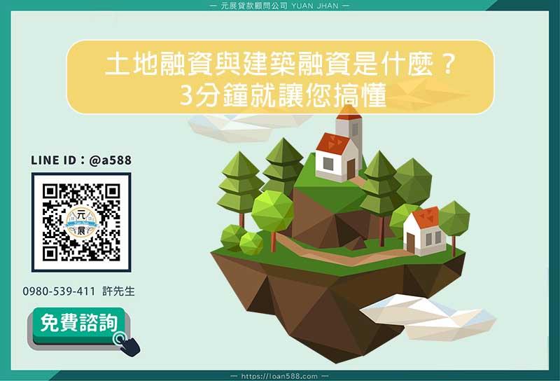 土地融資與建築融資是什麼