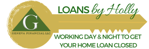 Logo With Tagline - Loans By Holly