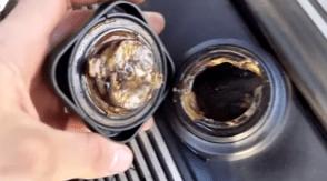 The Way a Oil Cap Shouldn't Look