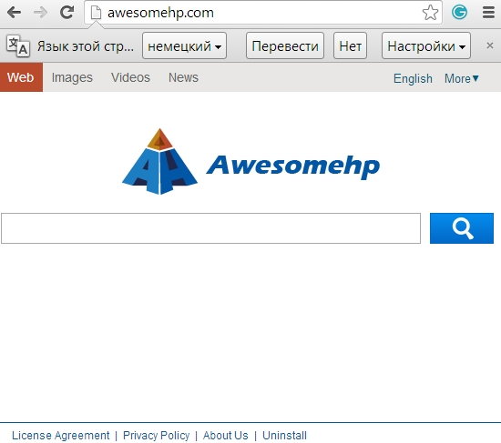 Awesomehp.com hijacker