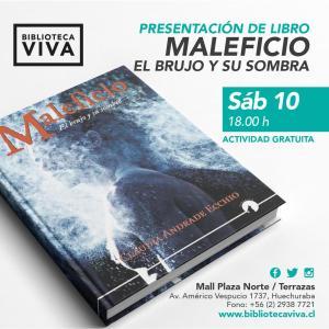 """""""Maleficio"""" con Claudia Andrade e Ignacio Rebolledo"""