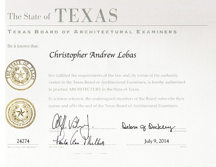 Christopher Lobas Architects Practice