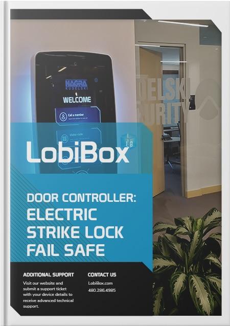 Electric Strike Lock Fail Safe Cover