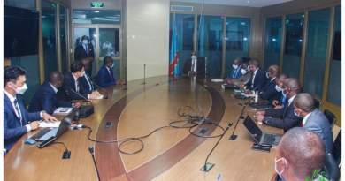 Tête-à-tête entre le ministre de la Santé et les représentants de SD Biosensor