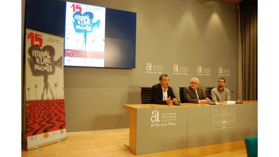 La Explanada y la simbología de David Lynch inspiran cartel del 15º Festival de Cine de Alicante
