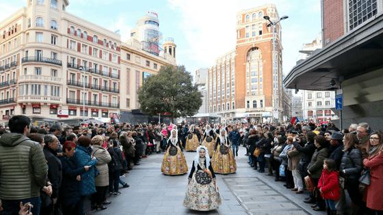 Fiestas populares de la Costa Blanca se muestran en Madrid
