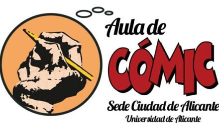 Aula de Comic ofrece Taller de Iniciación a la Narración Gráfica