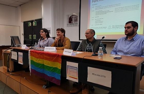 Diversidad e igualdad social en la Escuela de Formación Lyssa Da Silva #EscolaLGTBI