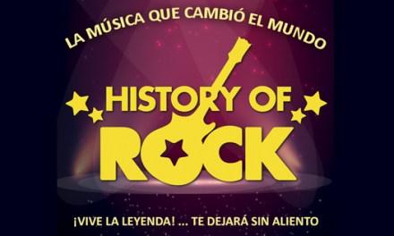 Nueva gira de History of Rock empieza en Auditori de la Mediterrània de La Nucía