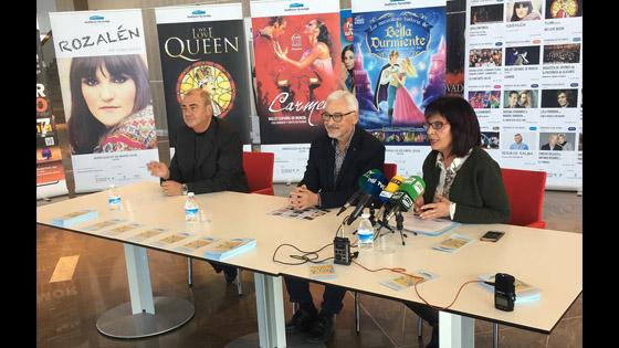 Auditorio de Torrevieja presenta los 16 espectáculos que conforman su programación de marzo a junio
