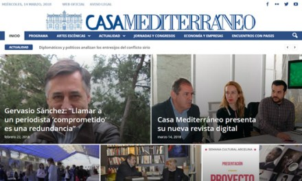 Casa Mediterráneo crea una revista digital para dar difusión a las acciones y proyectos que impulsa