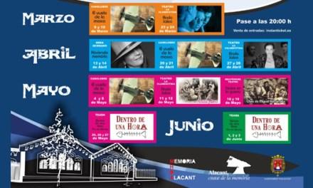 «Anda Jaleo» abre el Ciclo de Teatro y Música de la Memoria en la Casa de Máquinas de Alicante