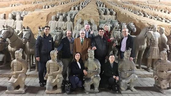 MARQ avanza en gestiones para traer los Guerreros de Xi'an en 2019 para la próxima exposición internacional