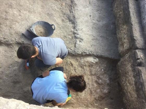 Excavación del nivel de suelo