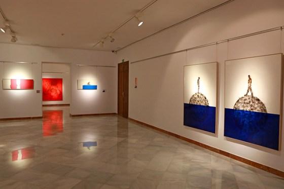Exposición Desplazamientos de Tomás Sivera Vallés