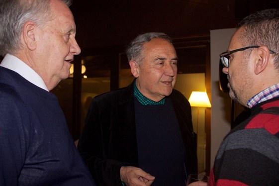 Ivan Aranda, Vicente Molina y Juan Leon Fabrellas. Foto; Moon Watcher Comunicación
