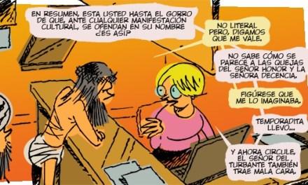 Melchor Mombo, Viñeta #3 LOBLANC