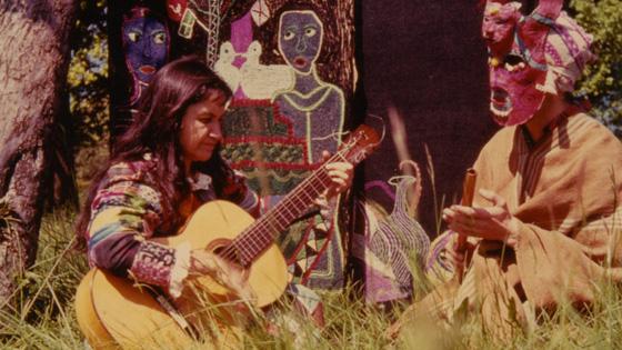 Micro abierto en homenaje a Violeta Parra en la Casa de la Cultura de Villena