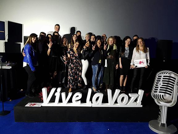 "Participantes ""Vive la Voz"" primera gala. Foto: ""Vive la Voz"""