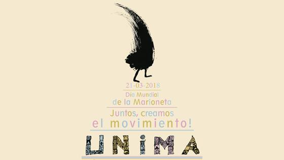 Versos de Werewere-Liking Gnepo para celebrar el Día Mundial de la Marioneta