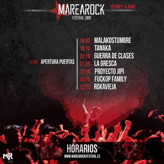 Escenario Escuela de Rock UMH Marearock 2018