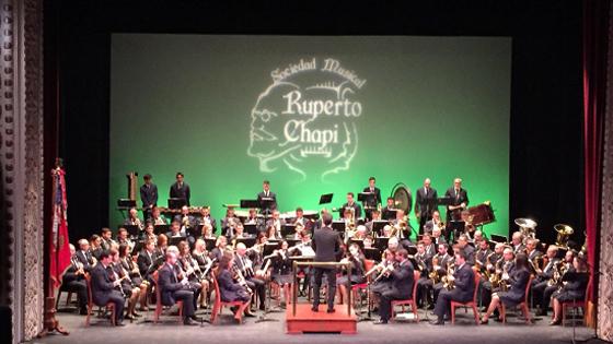 Teatro Chapí de Villena acoge el 47º Certamen Provincial de Bandas
