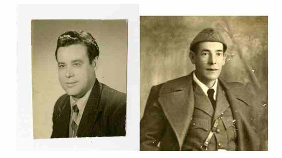 Vicente Pérez Bolufer y Asensio Vives Roselló, dos de las víctimas Denienses presos en el Campos de Concentración
