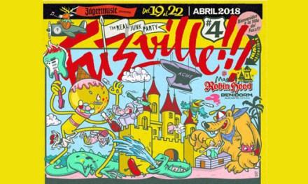 Fuzzville #4 convierte el resort Magic Robin Hood en la villa del garage y el punk