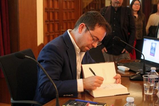Javier Sierra. Foto: Casa Mediterráneo