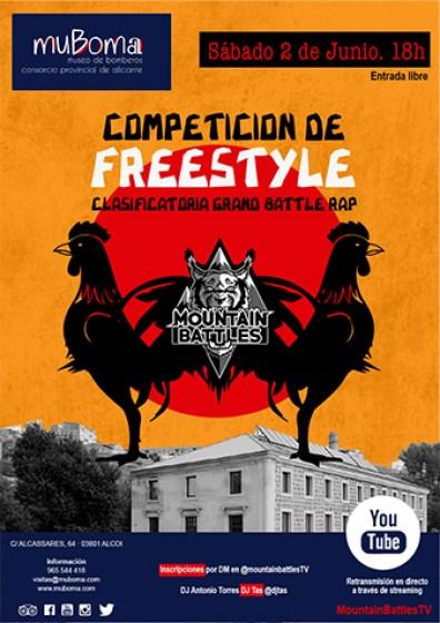 Cartel Competición Freestyle MUBOMA