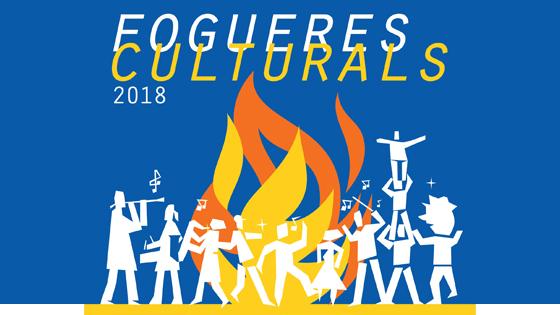 """Cartel de """"Fogueres Culturals 2018"""" propone una veintena de actos"""