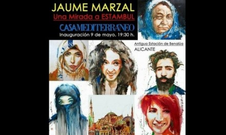 El artista Jaume Marzal expone «Una mirada a Estambul» en la Casa Mediterráneo en Alicante