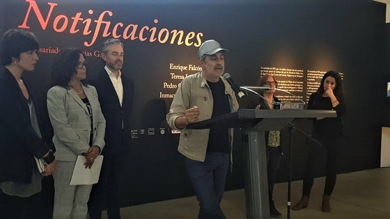 «Notificaciones» comisariada por Isaías Griñolo se presenta en Las Cigarreras