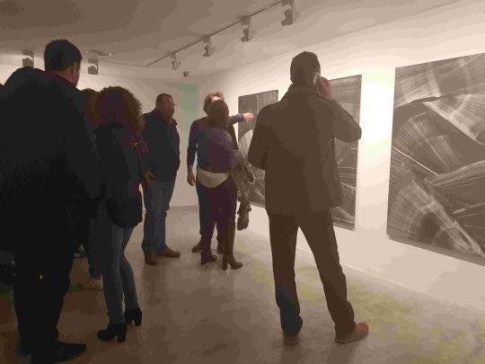 Inauguración Galería Aural. Foto: Juanjo Cervetto