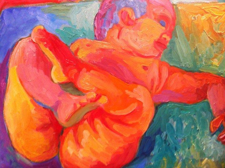 """Exposición Renacer. Villena, 1998: """"La ternura que sentis por mí tiene que pasar por la carne de mis nalgas"""". Para mi Amanda, siempre."""
