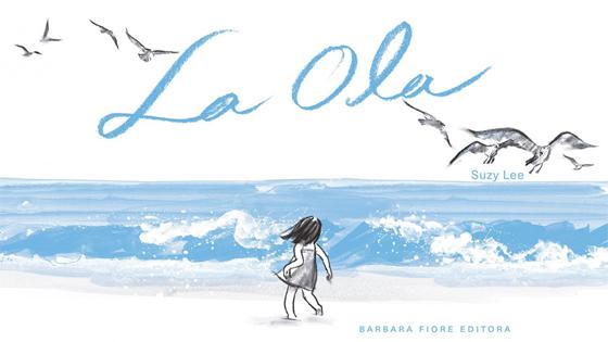 La impresionante simplicidad de las ilustraciones de acuarela de Suzy Lee en «La Ola»
