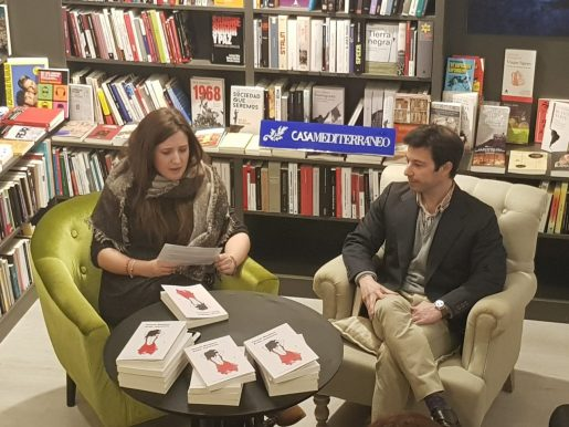 Marina Vicente y Gonzalo Manglano en Pynchon&Co. Foto: Juanjo Cervetto