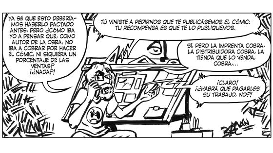 Román López-Cabrera Viñeta #11 LOBLANC