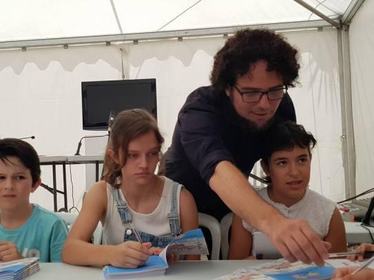 Acto Contarella Feria Libro 2017. Foto: Juanjo Cervetto